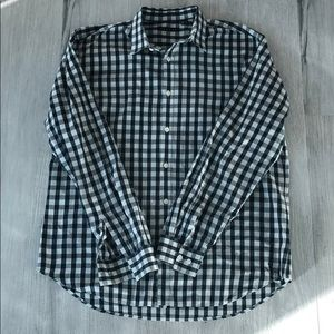 Men's theory button down